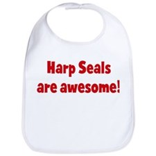 Harp Seals are awesome Bib