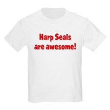 Harp Seals are awesome Kids T-Shirt