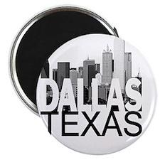 Dallas Skyline Magnet