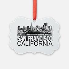 San Francisco Skyline Ornament