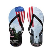 Hope for The Cure Flip Flops
