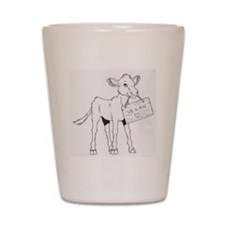 Cows Love Vegans Shot Glass