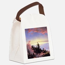 Above the Cloud Canvas Lunch Bag