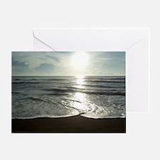 Sun Rise in Costa Rica Greeting Card