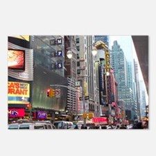 Busy New York Postcards (Package of 8)