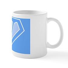 super pillowcase blue v Mug