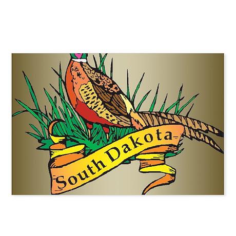 South Dakota Pheasant Postcards (Package of 8)