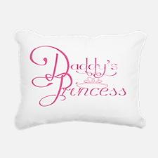 Daddys Princess Rectangular Canvas Pillow