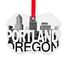 Portland Skyline Ornament