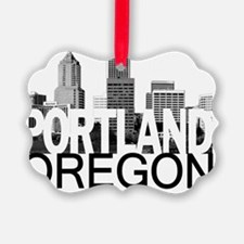 Portland Skyline Ornament