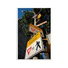 Street Signs Rectangle Magnet