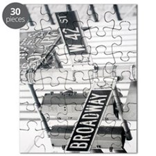 New York - Broadway Times Square Puzzle