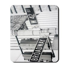 New York - Broadway Times Square Mousepad