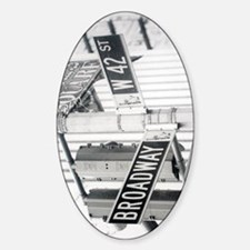 New York - Broadway Times Square Decal