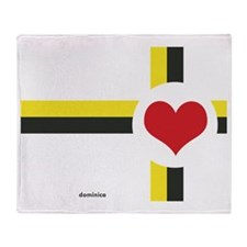 Dominica Love Throw Blanket