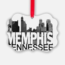 Memphis Skyline Ornament