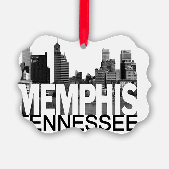 Memphis Skyline Ornament