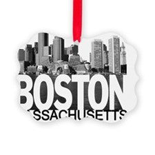 Boston Skyline Ornament