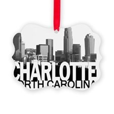 Charlotte Skyline Ornament