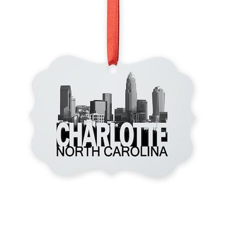 Charlotte Skyline Picture Ornament