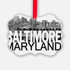 Baltimore Skyline Ornament