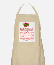 roar logo and promise Apron