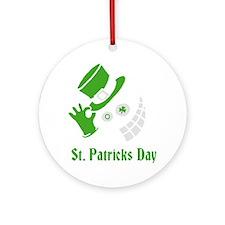 st. patricks day Round Ornament