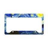 Artists License Plate Frames