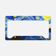 Van Gogh License Plate Holder