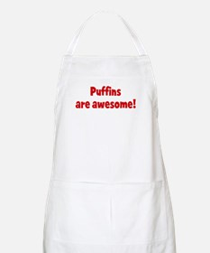 Puffins are awesome BBQ Apron