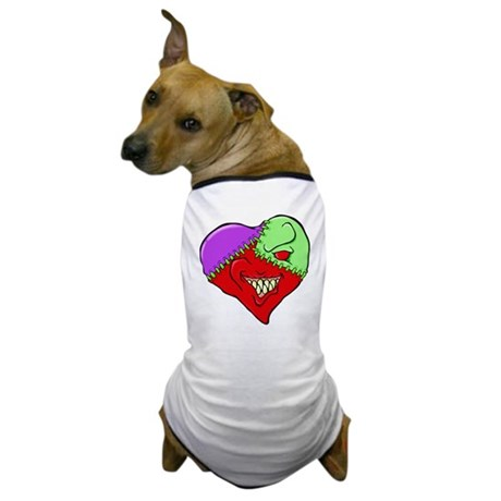 Smirky Heart Dog T-Shirt