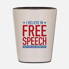 Free Speech Shot Glass