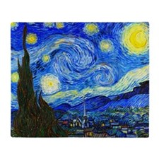 Van Gogh Throw Blanket