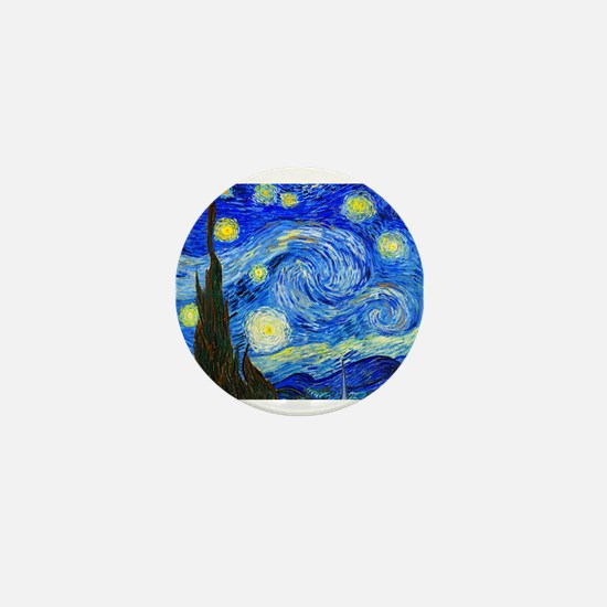 Van Gogh Mini Button