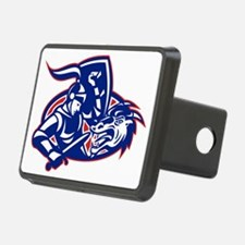 st. george fighting dragon Hitch Cover