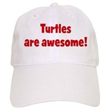 Turtles are awesome Baseball Cap