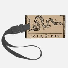 Tea Party - Join & Die Luggage Tag