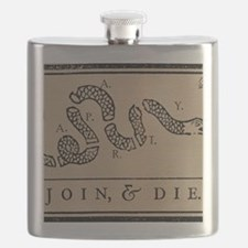 Tea Party - Join & Die Flask