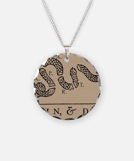 Tea Party - Join & Die Necklace