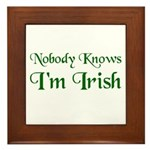 The Irish Framed Tile