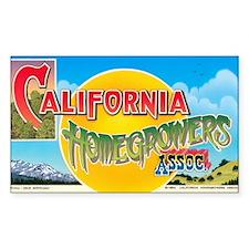 California Homegrowers Associa Decal