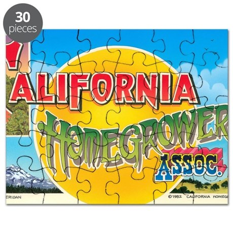 California Homegrowers Association Puzzle