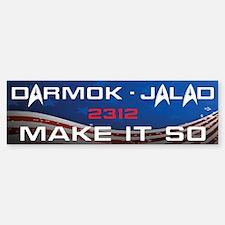 Darmok and Jalad Sticker (Bumper)