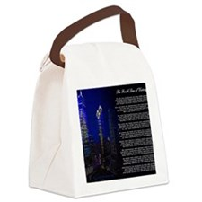 The Finish Line of Victory Poem Canvas Lunch Bag