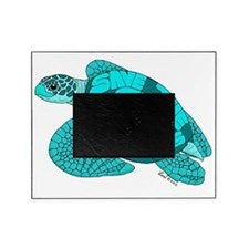 Teal Turtle Picture Frame