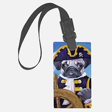 Pug Pirate Stuff Luggage Tag