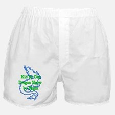Kid by Day Dragon Slayer by Night - Boxer Shorts