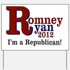 Romney-Ryan 2012 Yard Sign