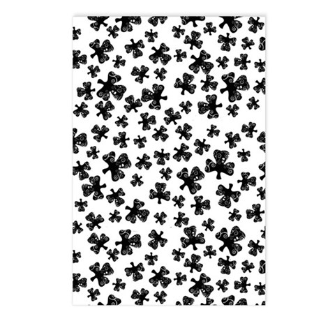 CloverPattern tall Postcards (Package of 8)