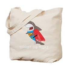 Shark hero Tote Bag